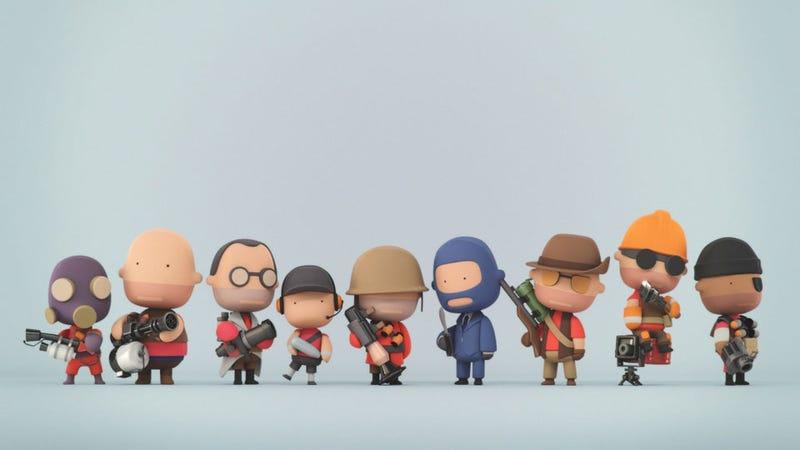 Meet the Team Fortress 2 Kids