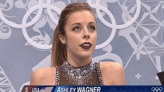 Ashley Wagner's Reactions Remain The Best