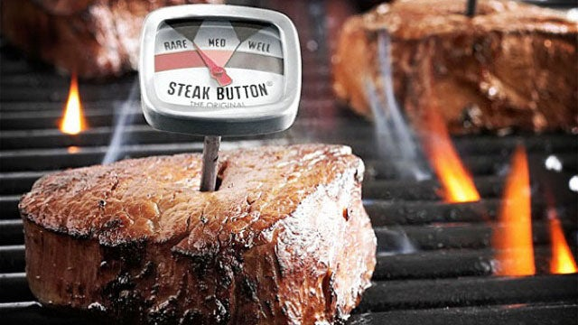 The Steak Thermometer for the Inattentive Chef