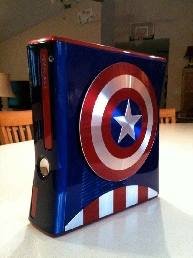 Avengers... Assemble! And Play With Your Fancy Custom Xbox 360s.