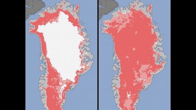 Greenland's Ice Sheet Melting Faster than We've Ever Seen