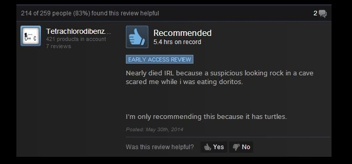 The Forest, As Told By Steam Reviews