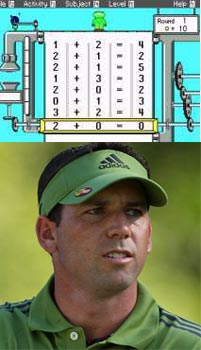 Sergio Garcia Struggles With Remedial Math