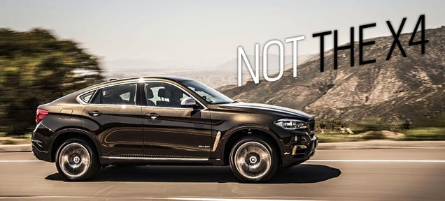 ​2015 BMW X6: This Is It