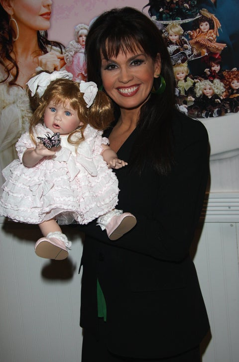 Marie Osmond & Terrifying, Insect-Eating Toy