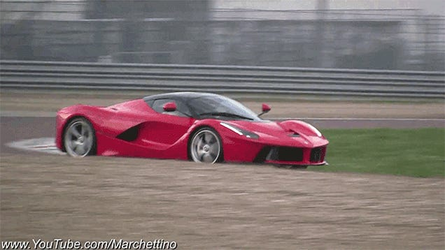 Watch Kimi Raikkonen Drive Like A Madman And Spin A LaFerrari On Track
