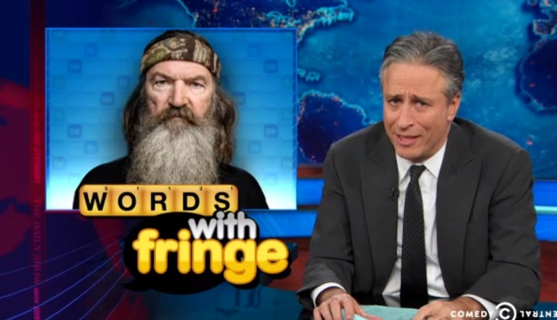 Jon Stewart Defends Duck Dynasty Star's Right to Say 'Ignorant Shit'