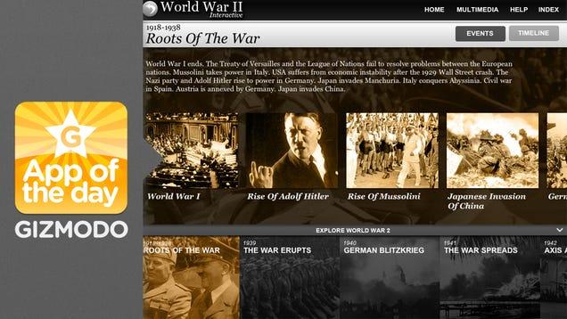 World War II Interactive for iPad Learn About World War II