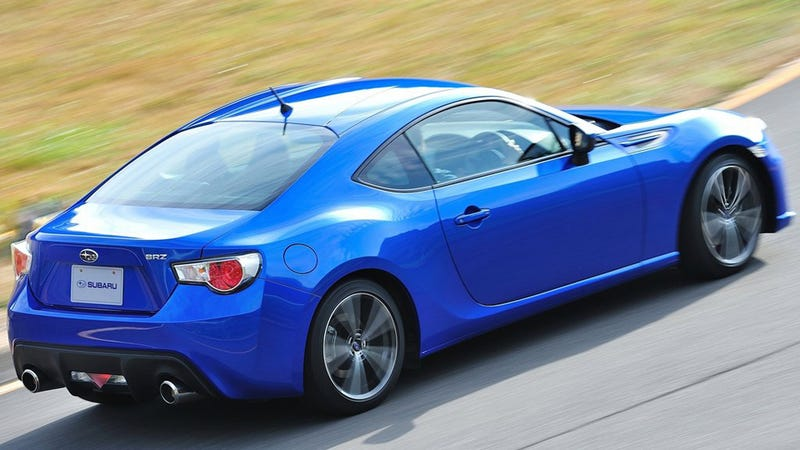 The Subaru BRZ Will Cost $25,495