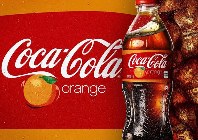 Hey Japan, Have Some Orange Coca-Cola