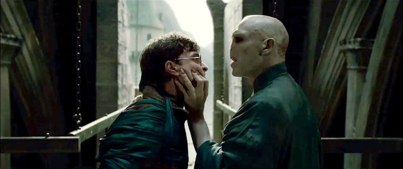 Potter Vs. Voldemort: First Photo of the Big Confrontation!