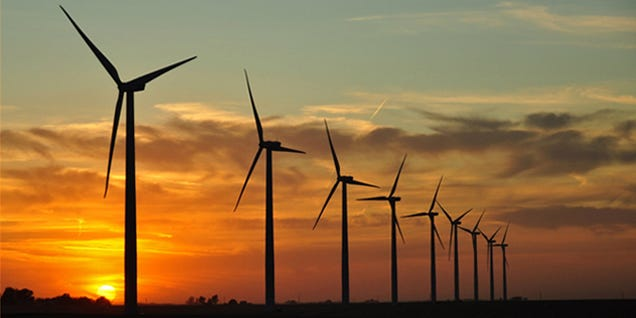 Denmark's Wind Energy Output Just Exceeded National Demand