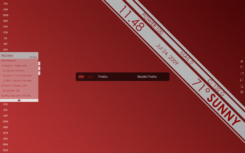 The Big Red Desktop