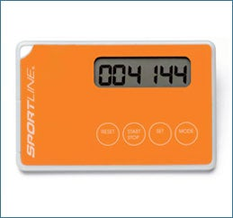 Sportline ThinQ Pocket Credit Card-Sized Pedometer