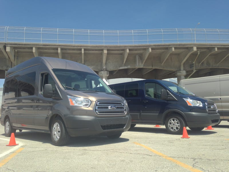 2015 Ford Transit: A Well-Behaved Whale, No Matter How Hard You Push It