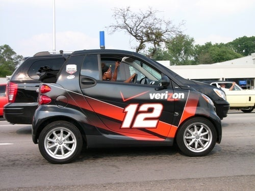 The Right Way to Drive a Smart Car at the Woodward Dream Cruise