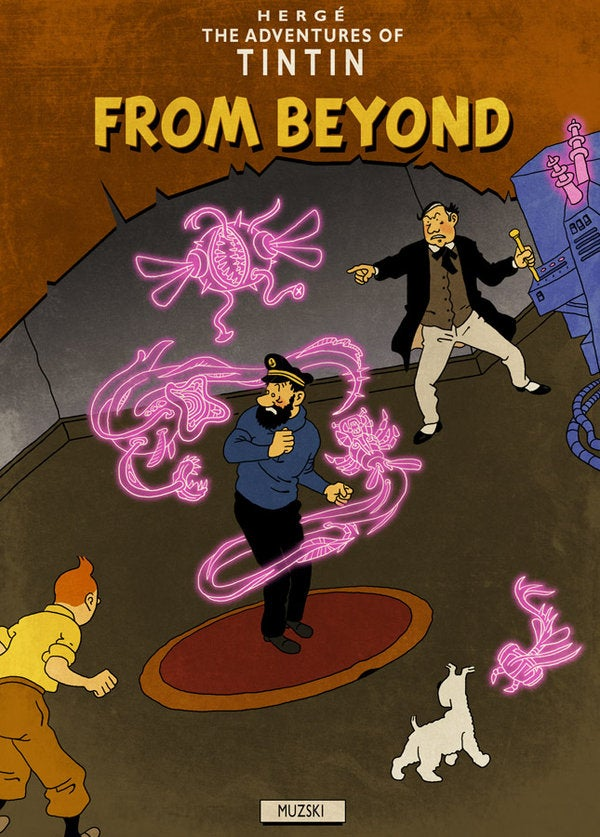 Tintin returns to the mind-melting worlds of H.P. Lovecraft