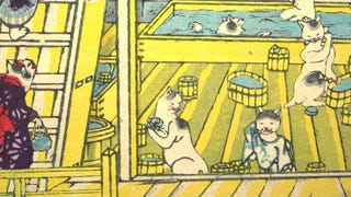 This Woodcut from 19th Century Japan Reveals Deep LOLcat History