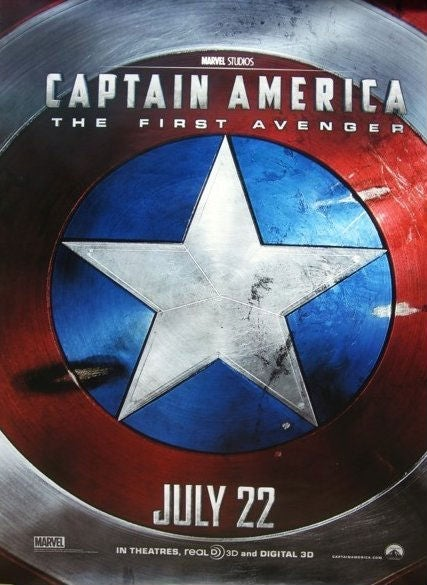 Captain America promo photos and new poster