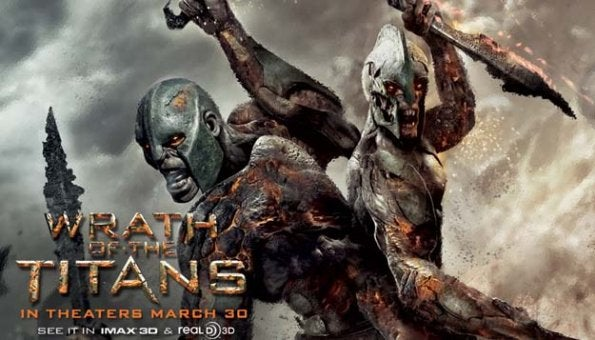 Wrath of the Titans promo banners