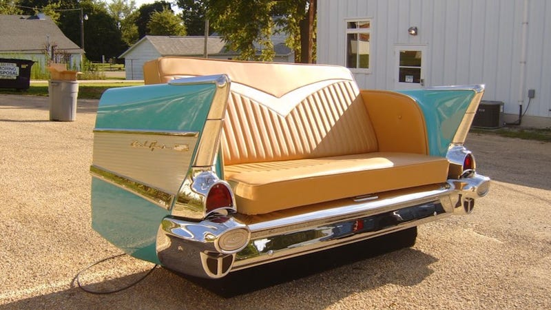 When luxury cars become beautiful pieces of furniture