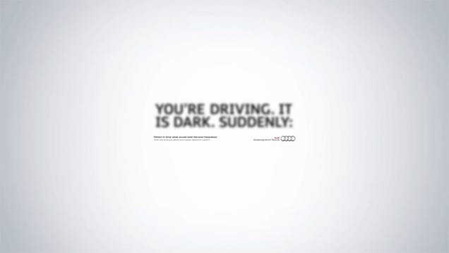 This Ad's Amazing Optical Illusion Reveals the Hazards Of Driving