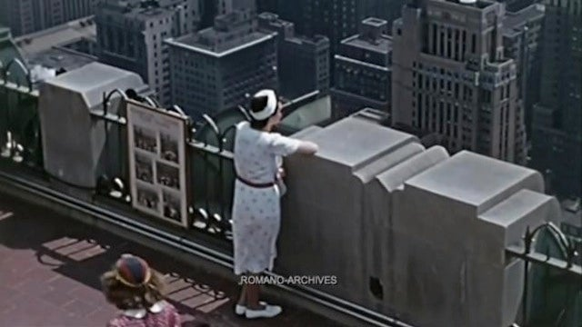 Here's Some Extremely Rare Color Footage of New York City in 1939