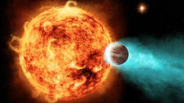 Enraged star is destroying planet with super-powerful X-ray blast