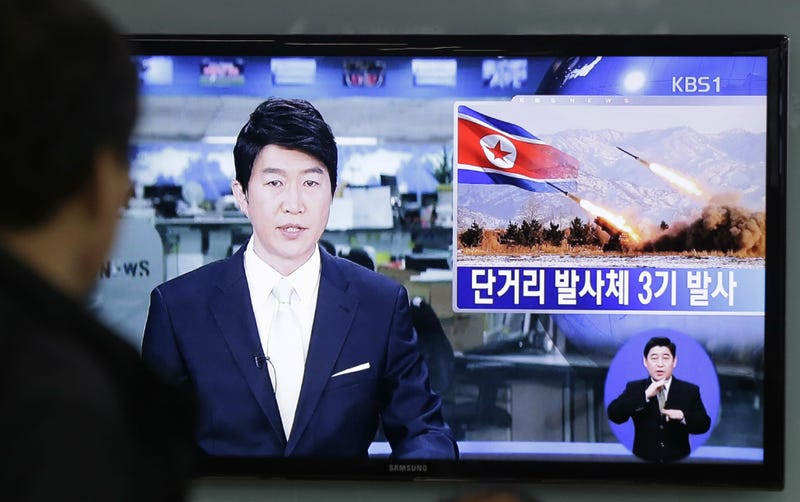 North Korea Launched 3 Missiles Into the Sea