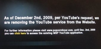 YouTube Shuts Down API Access, Leaves Set-Top Boxes High and Dry (UPDATED)