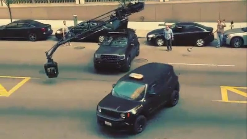 Watch The Jeep Renegade In The New Batman Slide During Its Chase Scene
