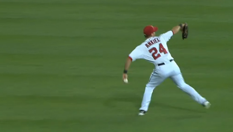 Rick Ankiel Threw A Strike From Center Field
