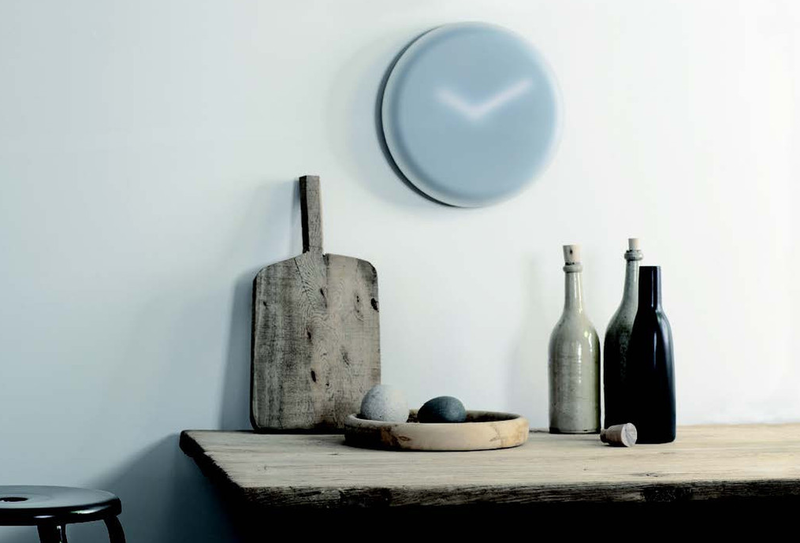 Punctuality Isn't a Priority With This Hazy, Hard-To-Read Clock