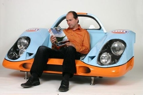 Porsche 917 Chair: Feel Like You're Going 250 MPH While Sitting Still