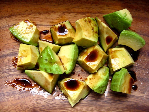 To the genius that recommended avocado+soy sauce...