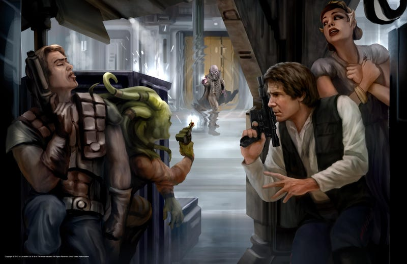 The Most Thrilling Star Wars Art We've Seen in Ages