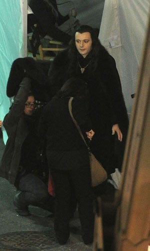 First look at the Volturi on the Breaking Dawn set