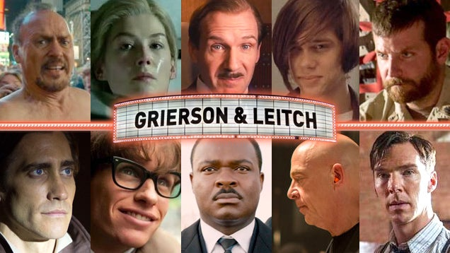 The Grierson and Leitch 2015 Oscar-Nomination Predictions