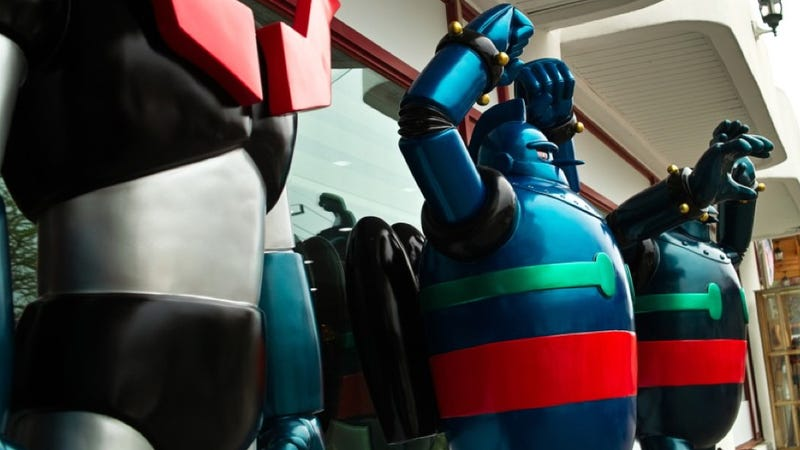 South Korea Has a Restaurant for Giant Robot Geeks