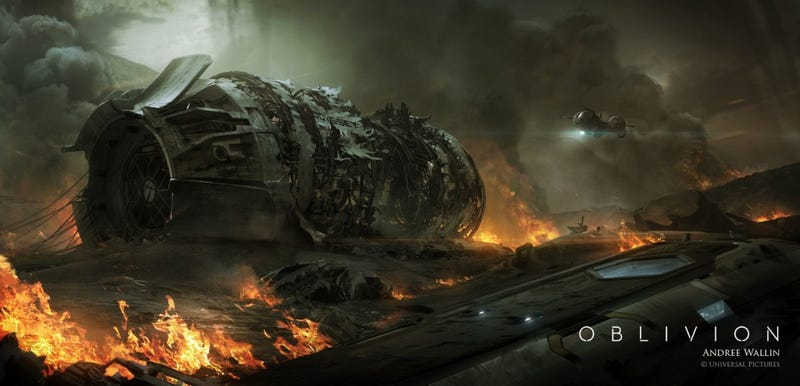 Haunting concept art from Oblivion