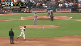 Madison Bumgarner Is The First Pitcher To Take Clayton Kershaw Deep