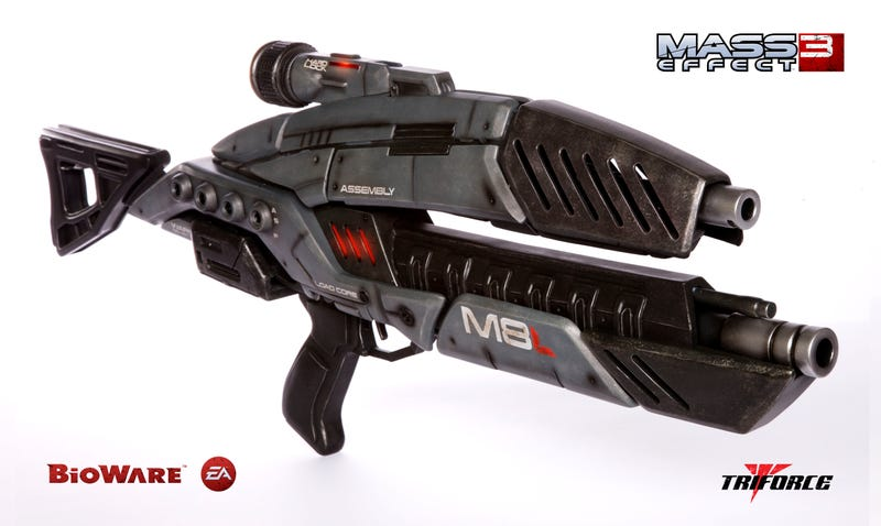 Buy Your Very Own Official, 1:1 Mass Effect Assault Rifle