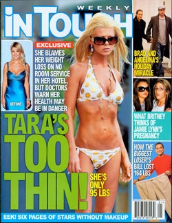 This Week In Tabloids: Jamie Lynn Still Pregnant; Tara Reid Too Skinny; Shiloh Utterly Unloved