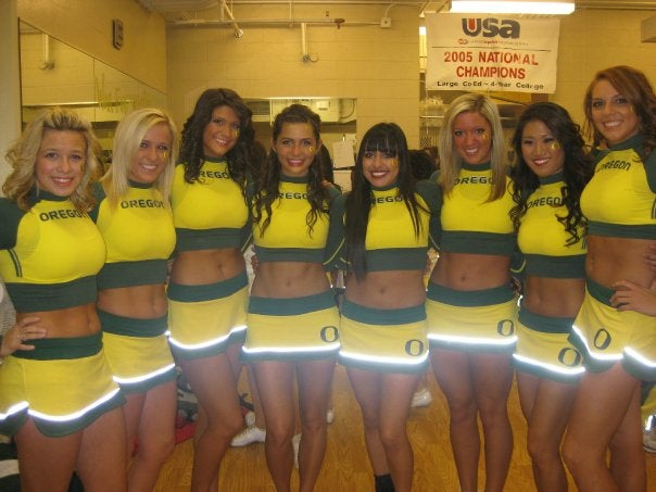 Ducks Cheerleader Full Of Liquid Cheer