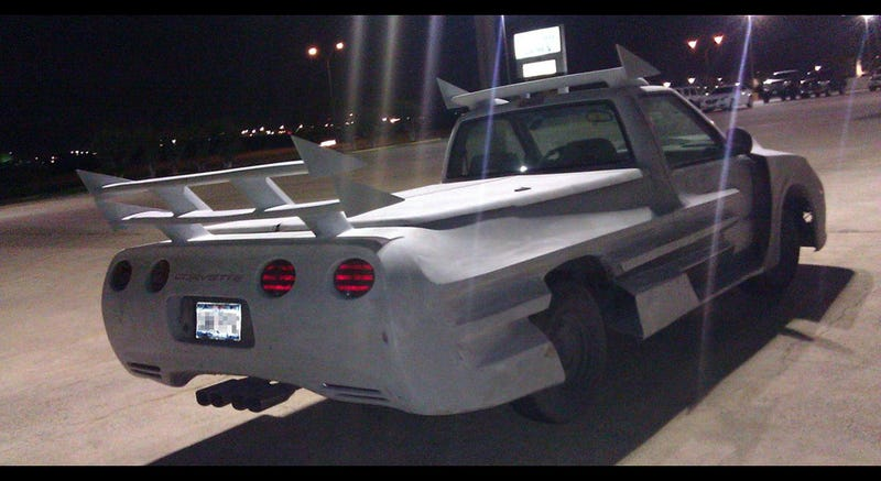 This Corvette, Camaro, pickup mashup will blow your mind