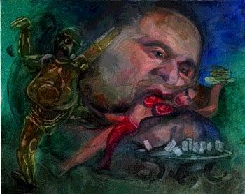 Your Winning Painting: 'Rush the Hut'