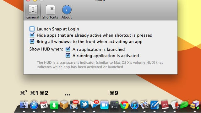 Snap Automatically Assigns Keyboard Shortcuts to Your Dock for Quick App Launching and Switching
