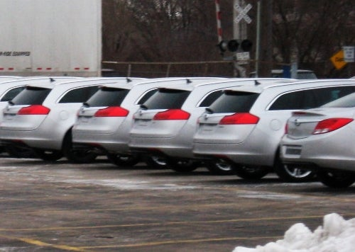 Buick Got Back? Insignia Wagons Mysteriously Appear In North America