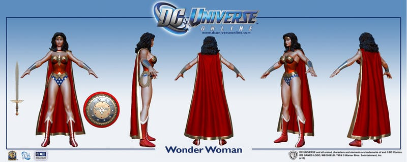 Wonder Woman Is Looking Fine In DC Universe Online