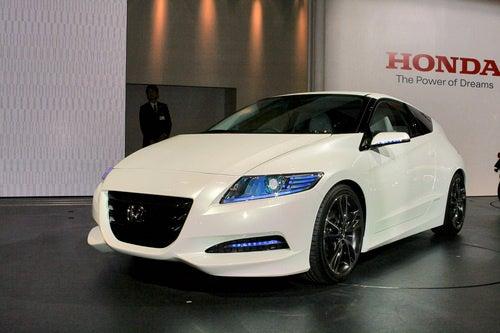 Honda CR-Z: 2009 Tokyo Motor Show Live Photos
